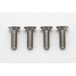 YOKOMO RP-042-10 Racing Performer High precision cutting titanium flat head screw M3×10mm
