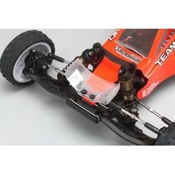YOKOMO Z2-107F YZ-2 Clear Lexan Front Wing Set (Wide/Narrow)