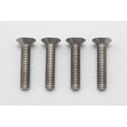 YOKOMO YOKOMO RP-042-15 Racing Performer High precision cutting titanium flat head screw M3×15mm