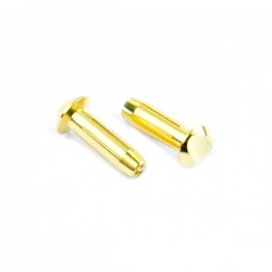 Muchmore LCG Euro Connector (4mm) Male 2pcs.
