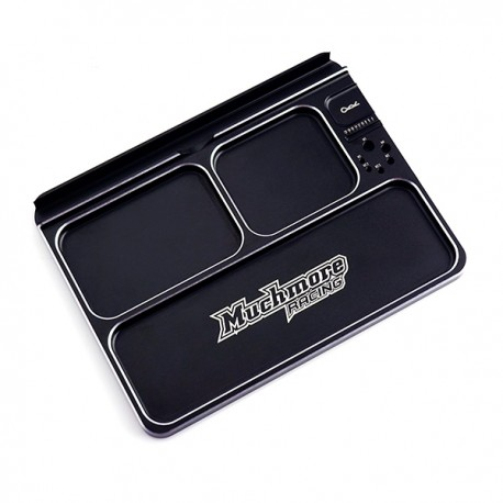 Muchmore Luxury Aluminum Part Tray 3 Black
