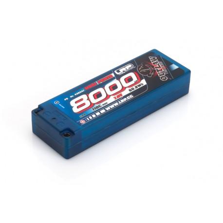 LRP BATERÍA 7,6V-8000MAH LIPO 110/55C C.DURA 1/10 OUTLAW STICKPACK P5