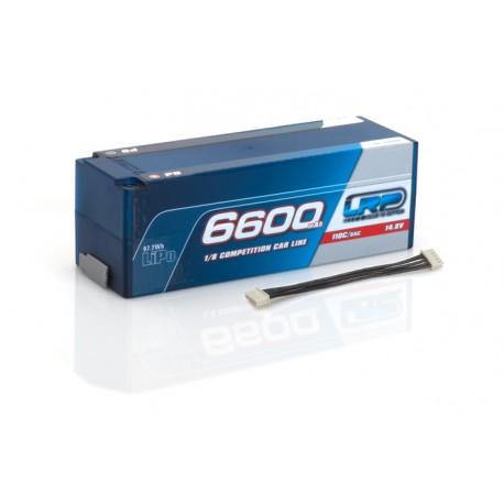 LRP BATERÍA 14,8V-6600MAH LIPO 110/55C 4S P5 1/8 CCL C.DURA