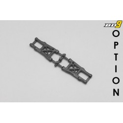 YOKOMO B8-RTC-01 BD8/BD716 Optional Rear RTC Suspension Arm (Damper Pivot 39.5mm)