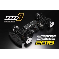 Yokomo BD8-2018 Euro spec with Original ALU STEERING