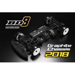 Yokomo BD8-2018 Euro spec with Original ALU STEERING