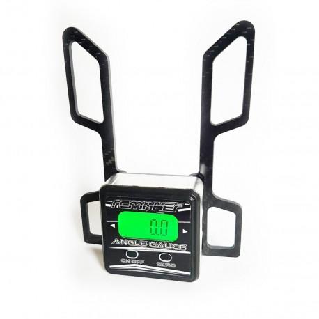 RC MAKER Digital Camber Gauge for Offroad Cars 1/8