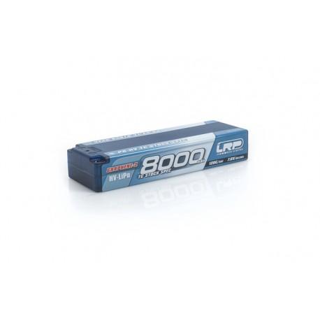 LRP 430260 BATERÍA 7,6V-8000MAH LIPO 120C/60C P5-HV TC STOCK SPEC GRAFENO-2 CAJA DURA