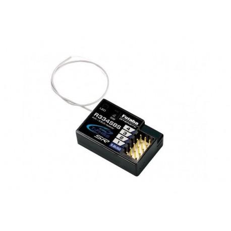 Futaba P-R334SBS - R334SBS - 2.4 GHz 4-Channel Receiver