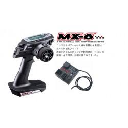 Sanwa MX-6 Radio + RX-391W Waterproof Receiver