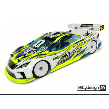 Bittydesign 1/10 Touring JP8 190mm Clear Body (Lightweight)
