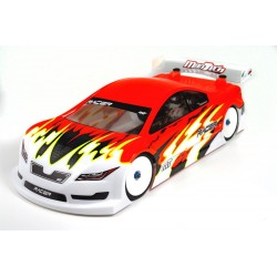 Mon-Tech  MB-017-008 Racer Touring Electric Car Clear Body 190mm