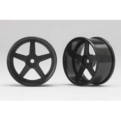 Racing Performer Drift Wheel 5 spoke 01 (6mm Offset·Black·2pcs)