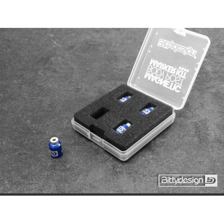 Bittydesign Magnetic Body Post Marker Kit - BLUE