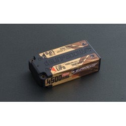 Sunpadow 7.4V 2S CN 4500mAh 120C/60C Shorty LiPo Battery