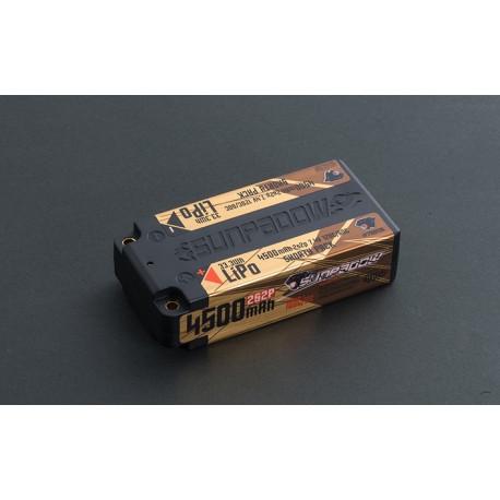 Sunpadow 7.4V 2S CN 4500mAh 120C/60C Shorty LiPo Battery