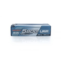 LRP P5-HV Shorty Stock Spec GRAPHENE-2 5800mAh Hardcase battery - 7.6V LiPo - 120C/60C
