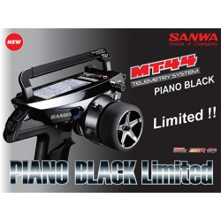 Sanwa MT-44 Piano Black Limited Edition Radio + RX-482 Receiver