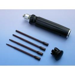PROLUX Atornillador 4 en 1 Allen 1,5-3mm