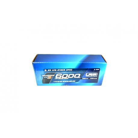 LRP 430281 LiPo 6000mAh HV LCG Stock Spec GRAPHENE-3 7,6V 65/130C 270g