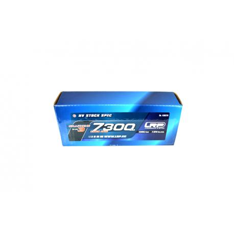 LRP 430276 LiPo 7300mAh HV Stock Spec GRAPHENE-3 7,6V 65/130C 304g
