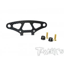 T-Work´s Yokomo BD9 Graphite Upper Holder For Bumper