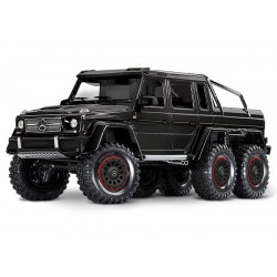 Traxxas TRX-4 Mercedes-Benz G 63 AMG Body 6X6 Electric Trail Truck Black PREORDEN