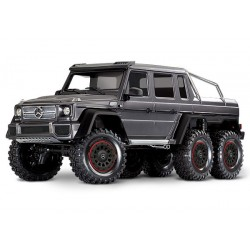 Traxxas TRX-4 Mercedes-Benz G 63 AMG Body 6X6 Electric Trail Truck Silver
