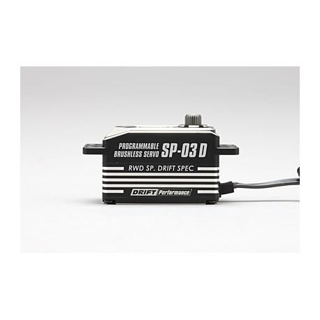 Yokomo SP-03DP Low Profile Brushless Servo - Black