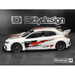 Bittydesign 1/10 FWD HC-F 190mm Clear Body