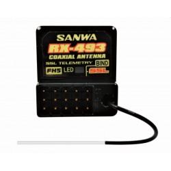Sanwa RX-493 (FH-5, SUR-SSL) 2,4GHz Receiver