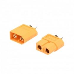 HRCSPAIN CONECTOR XT60 MACHO+ HEMBRA (1 pair)