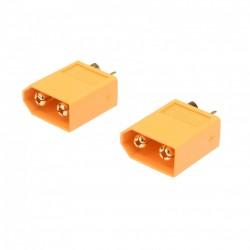 HRCSPAIN  CONECTOR XT60 MACHO (2pcs)