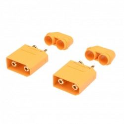 HRCSPAIN CONECTOR XT90 MACHO (2pcs)