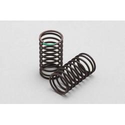 Yokomo Standard Drift Spring 1,3mm x 9,5 Coils Extra Hard - Green