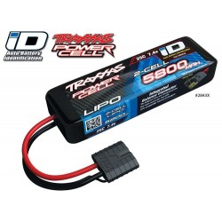 Traxxas Li-Po Battery 2S 7,4V 5800mAh 25C iD-connector