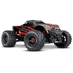 Traxxas MAXX® - 1/10 4x4 3-4s LiPo Monster Truck - Rojo