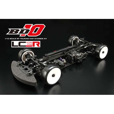 Yokomo BD10LC Carbon Chassis Touring Car Kit incl. RTC Suspension