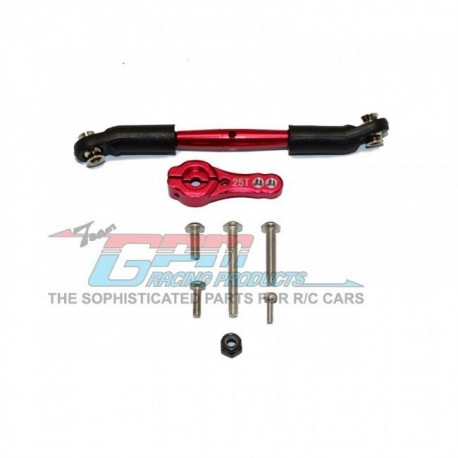 GPMRACING | TRAXXAS TRX4 TRAIL CRAWLER Aluminum Servo Horn With Steering Link  - GPM TRX416025