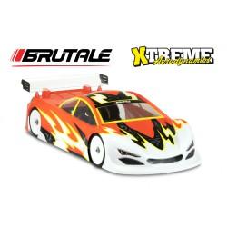 Xtreme AERODINAMICS 1/10 Brutale Clear Body 0.7mm (190mm)