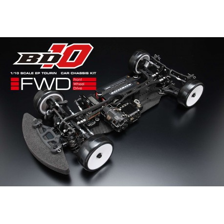 Yokomo BD10FF FWD Touring Car Kit