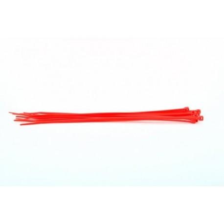 187000190 Bridas Sujeccion 200x4.5x51 (10unds) Rojo