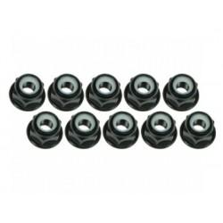 3RAC-NF30/BL 3 RACING 3mm Aluminium Flanged black (10pcs)