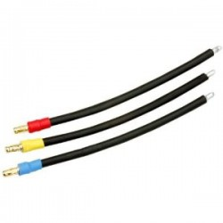 GRAUPNER 2894.14 Cable set 2.5mm G3.5 conector para Brushless motor