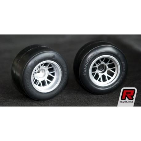 RI-26023 RIDE Rear F-1 Rubber Tire, preglued