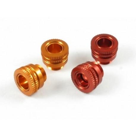 ROC-BPA01-O ROCHE Aluminium Body Height Adjuster, for Body Post diameter 6 mm, ORANGE