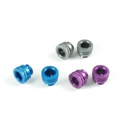 ROC-BPA01-P ROCHE Aluminium Body Height Adjuster, for Body Post diameter 6 mm, Purple