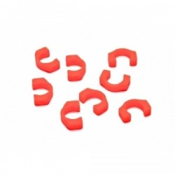 ROCHE ROC-XRT4-10 MR..Roche Series - 3.5mm POM C-Blade for Xray T4/T3, 8 pcs Blades Orange