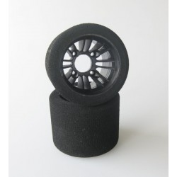 101564 XCEED Tyre/rim 1:10 WGT RR black medium