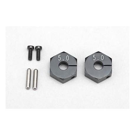 Clump Wheel Hub (5.0mm?Black)
